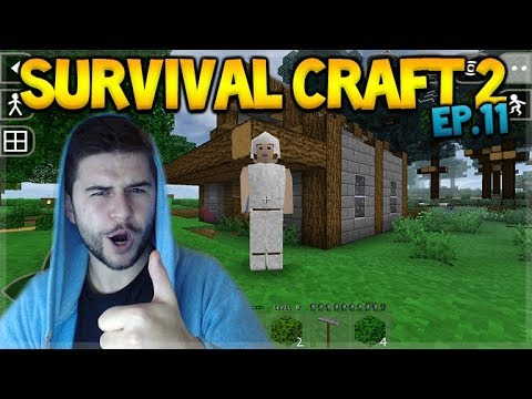 Survival Craft 2 - WE UPGRADED THE HOUSE & FARM DESIGN! Let's Play (11)