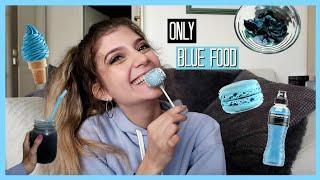 Τρώω ΜΟΝΟ μπλε φαγητά για 24 ώρες   katerinaop22