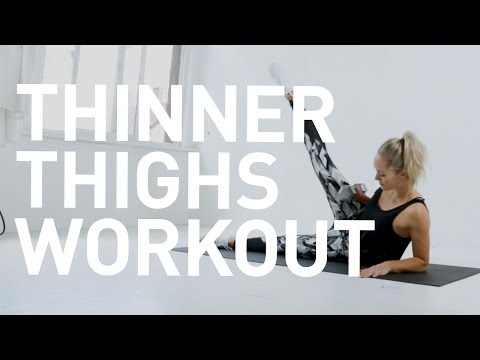 How To Get Thinner Thighs - At Home Workout