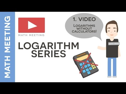 Logarithms introduction - Solving Logs without a calculator
