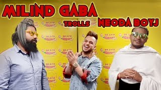 Millind Gaba trolls Neoda Boyj | Lame jokes | PJs with stars