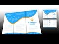 Illustrator tutorial - Brochure design template