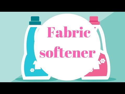 Fabric softener is the #1 cause of indoor air pollution  Make your own with this DIY recipe
