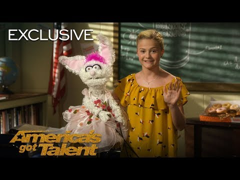 AGT's Talent University: Darci Lynne Teaches Ventriloquism - America's Got Talent 2018