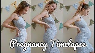 Epic Pregnancy Progression Time Lapse | Week by Week | PlantPowerBaby