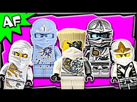 Lego Ninjago Zane WHITE NINJA Minifigures Complete Collection