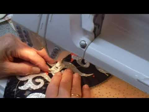 Leotard sewing