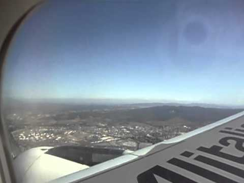 Amazing AZ-1663(Rome-Pisa) Landing at Pisa airport(Aeroporto Galileo Galilei)[HD]-2