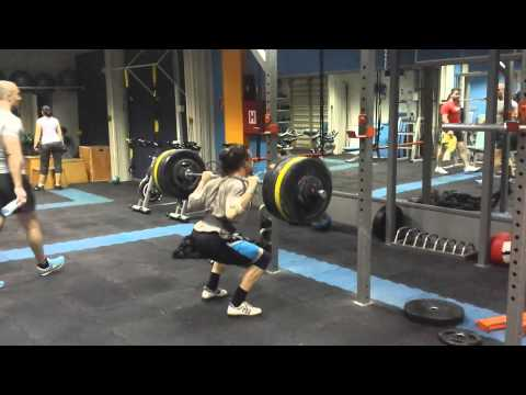 Squat 157.5kg x5