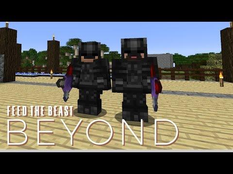 FTB Beyond w/ xB - UNBREAKABLE SHURIKEN [E14] (Modded Minecraft)