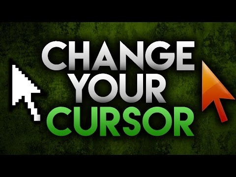How To Change Your Mouse Cursor 2016! Windows 7/8/10!