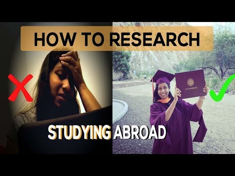 How to Research Universities for Studying Abroad | Study in USA, Canada, Australia and more