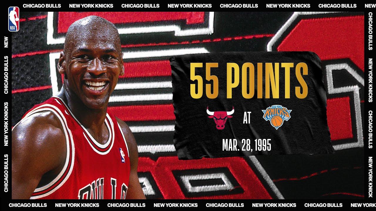 "Michael Jordan's ""Double-Nickel"" Game   #NBATogetherLive Classic Game"