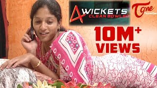 4 Wickets | New Telugu Comedy Short Film | Directed by Divyya Tez Mygapula | #TeluguShortFilms
