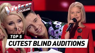CUTEST AUDITIONS EVER (!) in The Voice Kids