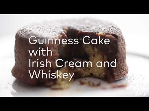 Guinness Cake with Irish Cream and Whiskey | Cooking | Tasting Table