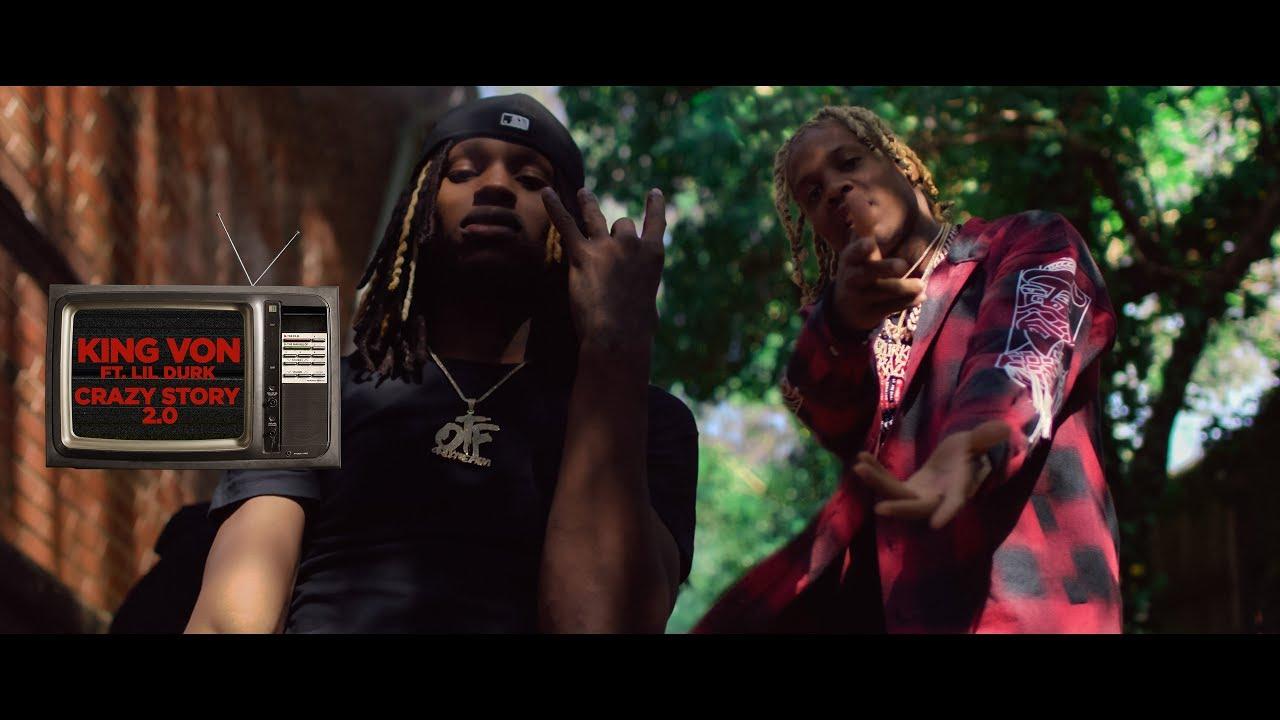 King Von - Crazy Story (REMIX) ft. Lil Durk (Official Video)