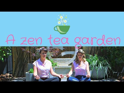 Create a zen inspired tea garden // Meditation Garden // Relaxation Garden // The Gardenettes
