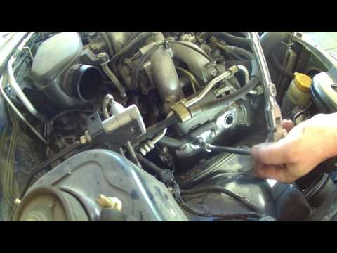 Spark plug replacement 2005 Subaru Forester tune up. how to change spark plugs