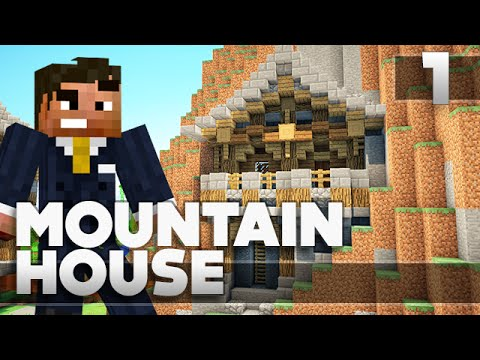 Minecraft: Small Simple Mountain House Tutorial PE/XBOX 360/PS3/PS4/PC
