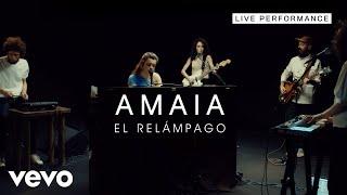 Amaia - El Relámpago - Live Performance   Vevo