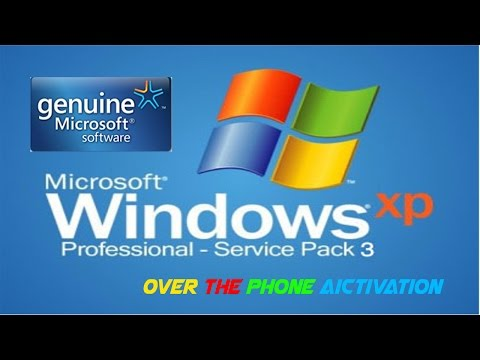 Genuine Windows XP Professional  Activation  [Phone Method] Guaranteed  2014