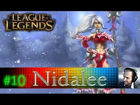 League Of Legends Nidalee [ARABIC] لول رانكد : الحلقة #10 إنسان أو نمر ؟