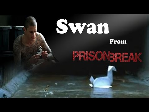 Prison Break Origami Swan