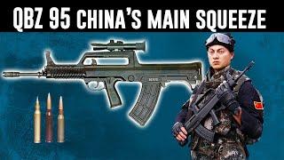 How China's QBZ 95 bullpup fits their tactics