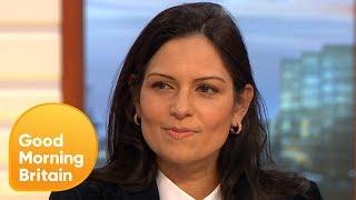 Priti Patel Shares Her Dismay at