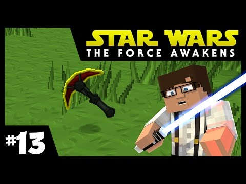 Star Wars: The Force Awakens Ep. 13 || RED MATTER ft. Milton || Minecraft Modded Survival