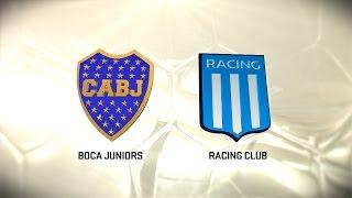 Boca vs. Racing. Fecha 12. Torneo de Primera División 2016/2017. FPT