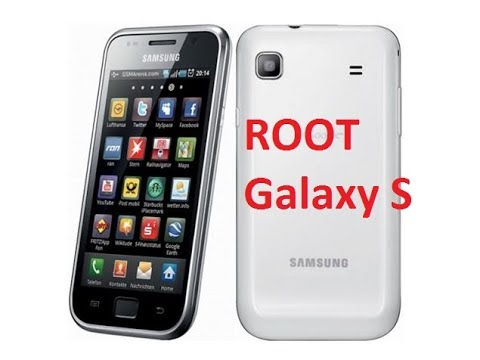 How to root  Samsung Galaxy S ( GT- I9000)