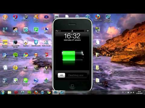 Jailbreak iPod Touch 2G firmware 4.1 modelo MC