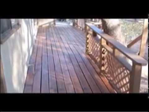 Deck Restoration:  How To Restore A Redwood Deck