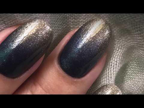 How to get the perfect blend with ombré nails and cnd shellac