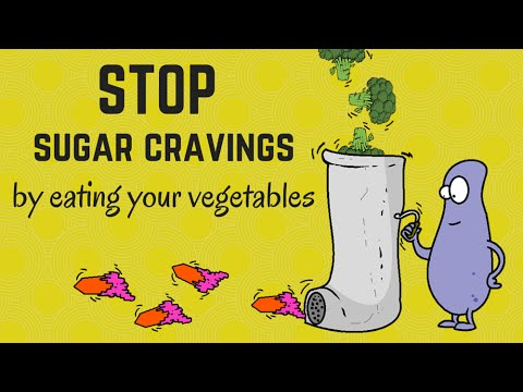 Stop sugar cravings by eating your vegetables