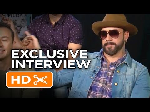 The Backstreet Boys Interview HD   Celebrity Interviews   FandangoMovies