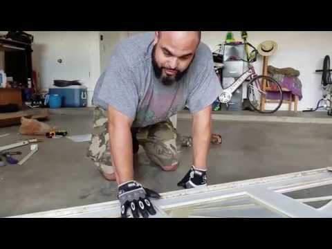 DIY Garage Door Panel Repair Part 2