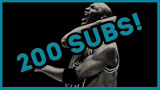 THANKS FOR 200 SUBS!!!