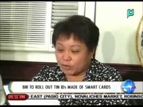 NewsLife: BIR to roll out TIN IDs made of smart cards