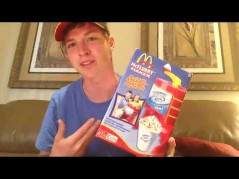 Mcdonald's McFLURRY MAKER Toy | 1,000 Subscriber Special |