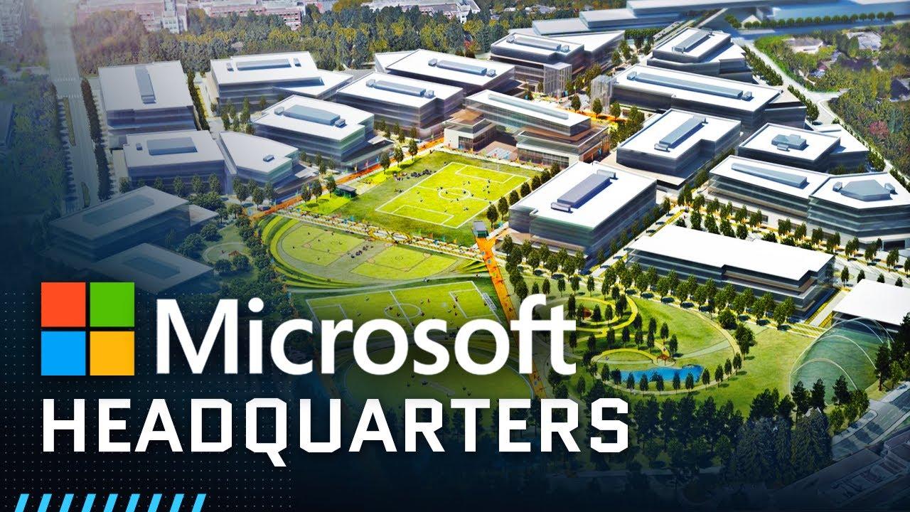 Inside Microsoft's Massive Headquarters