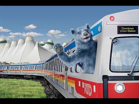 Denver's Train to the Plane