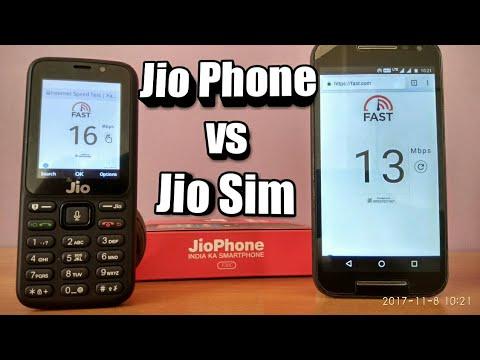 Speed test comparison Jio phone vs Jio 4G Sim | Shocking results 😱 ✓