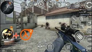 HOW TO DOWNLOAD CS:GO ON ANDROID! FULL HD TUTORIAL   HD GAMEPLAY