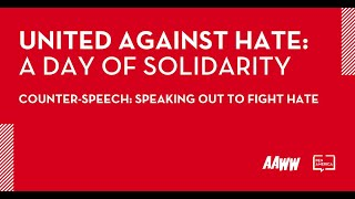 [WEBINAR] Counter-Speech: Speaking Out to Fight Hate