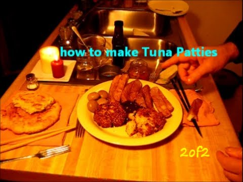 How to make Tuna Patties / easy soul food recipe 2of2