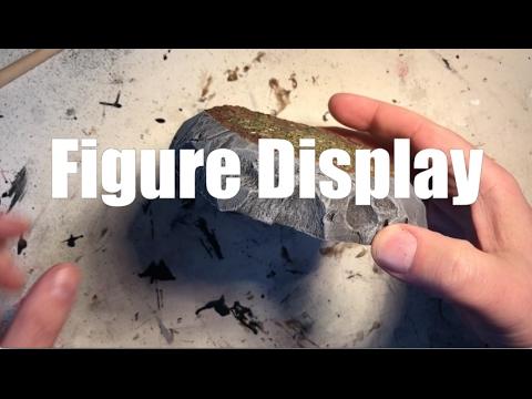 Custom Figure Display Stand Tutorial
