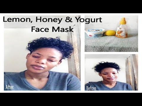Best Face Mask Ever? Lemon, Honey and Yogurt Face Mask | GoldQueen Queency